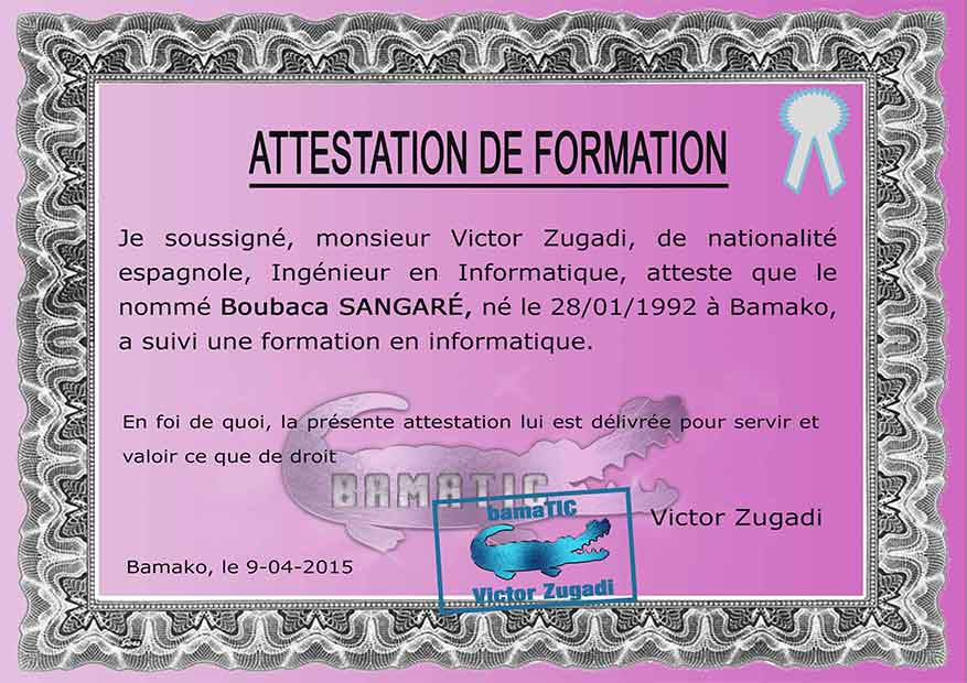 formation en informatique